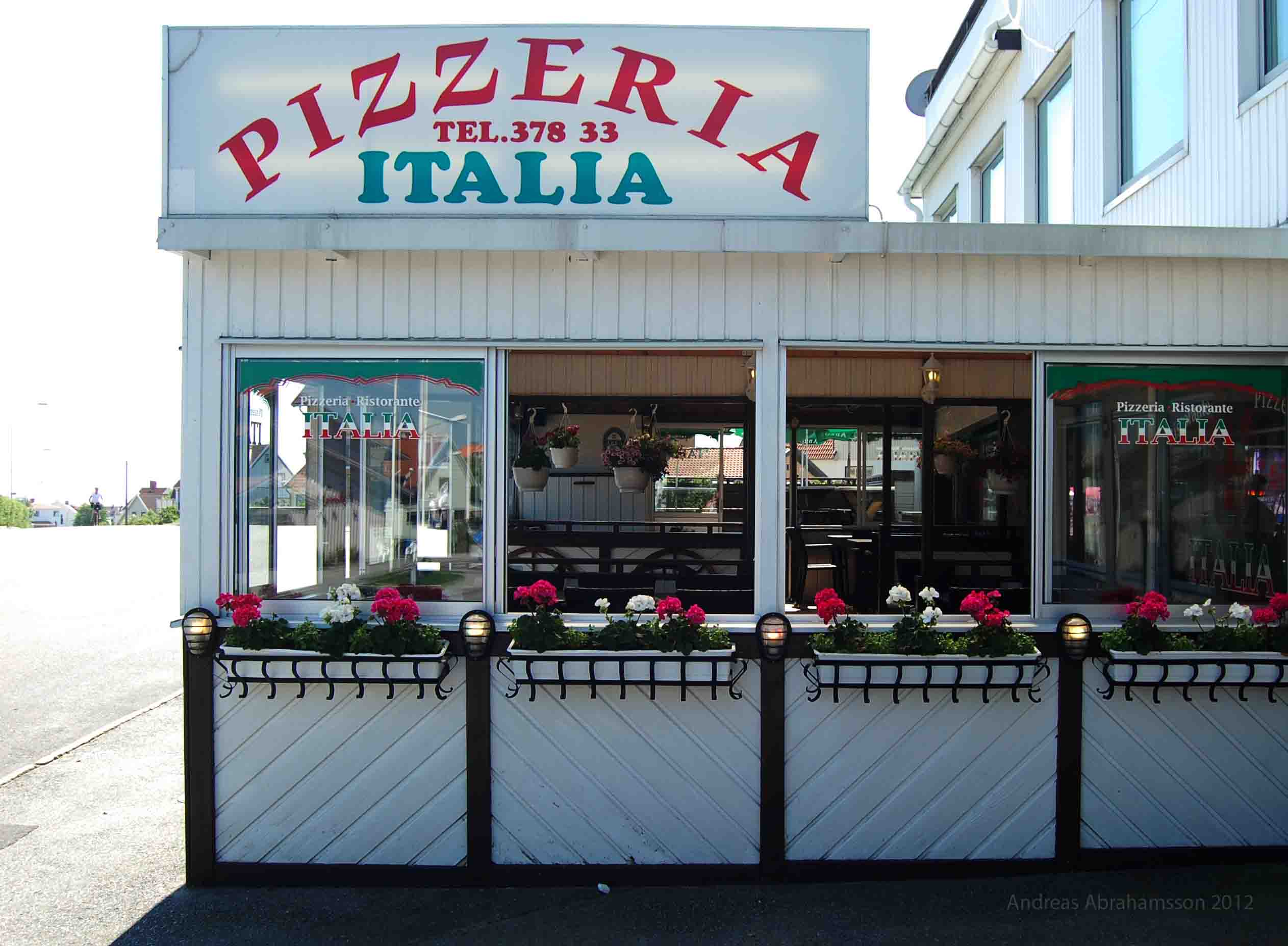 pizzeria italia kungshamn meny